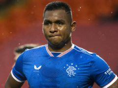 Steven Gerrard has backed Rangers striker Alfredo Morelos to overcome his poor spell of form (Alan Harvey/PA)