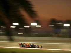 Max Verstappen romped to a straightforward victory in Abu Dhabi (Brynn Lennon/AP)