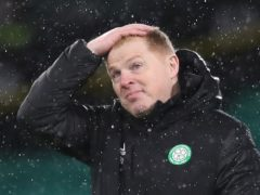 Celtic manager Neil Lennon is taking nothing for granted in the cup final (Jane Barlow/PA)