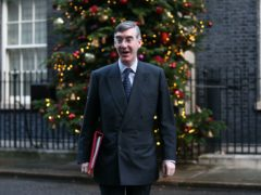 Jacob Rees-Mogg has not indicated whether Parliament will be recalled (Yui Mok/PA)