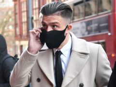 Jack Grealish arrives at Birmingham Magistrates' Court (Jacob King/PA)