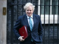 Prime Minister Boris Johnson arrives in Downing Street, London, ahead of the government's weekly Cabinet meeting (Yui Mok/PA)