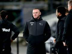 Derby are unbeaten in six since Wayne Rooney was made interim manager (Nigel French/PA)