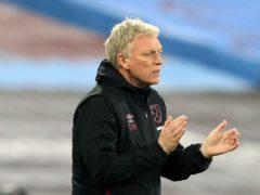 David Moyes is impressed by the team spirit at West Ham (Stephen Pond/PA)