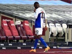 Christian Benteke was sent off at West Ham (Stephen Pond/PA)