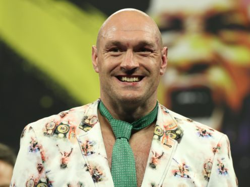 Tyson Fury believes a fight against Anthony Joshua has to happen next year (Bradley Collyer/PA)