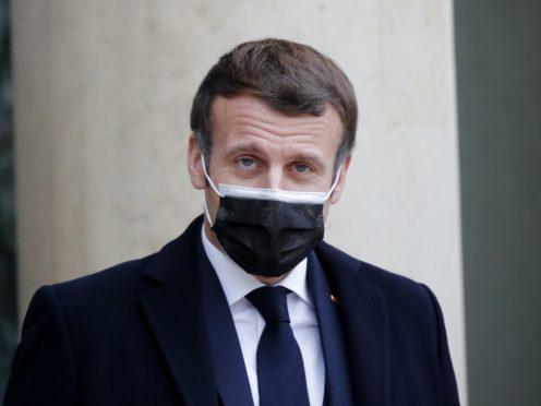 Emmanuel Macron (Francois Mori/AP)