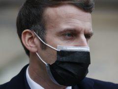 French President Emmanuel Macron (Francois Mori/AP)