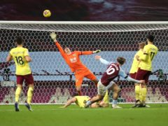 Aston Villa's Jack Grealish shoots over in their draw with Burnley (Molly Darlington/PA)