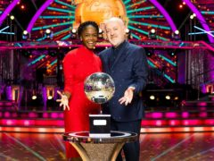 Bill Bailey and Oti Mabuse (Guy Levy/PA)