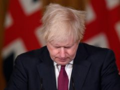 Boris Johnson has put almost 18 million people in London and the South East into a Christmas lockdown (Toby Melville/PA)