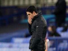 Arsenal manager Mikel Arteta was left dejected (Jon Super/PA)
