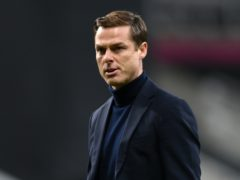 Fulham manager Scott Parker was unhappy with the penalty decision which cost his side victory at Newcastle (Stu Forster/PA)