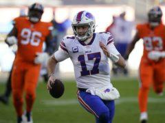 Buffalo Bills quarterback Josh Allen (Jack Dempsey/AP)