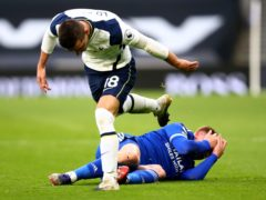 Giovani Lo Celso has been ruled out of the festive period after an injury against Leicester (Julian Finney/PA)