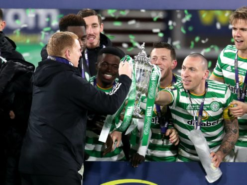 Celtic manager Neil Lennon feels fantastic after making history (Andrew Milligan/PA)