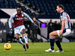 Bertrand Traore scored his first Premier League goal for Aston Villa (Laurence Griffths/PA)