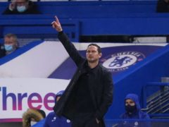 Frank Lampard will hope Chelsea can continue to move up the table (John Walton/PA)