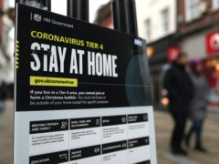 More restrictions are expected to be announced in parts of England on Wednesday (Andrew Matthews/PA)