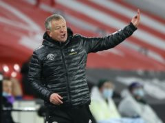 Chris Wilder wants more from his experienced players (Nick Potts/PA)