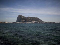 Gibraltar seen from the neighbouring Spanish city of La Linea (AP/Javier Fergo, File)