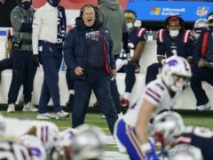 New England Patriots head coach Bill Belichick could not get the win against the Buffalo Bills (Charles Krupa/AP)