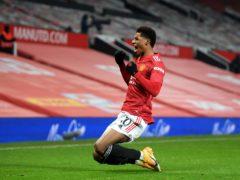 Marcus Rashford struck a late winner for Manchester United (Michael Regan/PA)