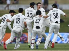 New Zealand have topped the ICC Test rankings for the first time (Andrew Cornaga/AP)