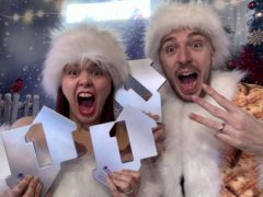 Mark and Roxanne Hoyle, aka LadBaby, have scored a third Christmas number one (Official Charts Company).