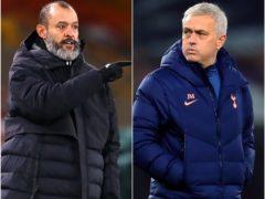 Mourinho's side visit Nuno's Wolves (Michael Steele/Adam Davy/PA)