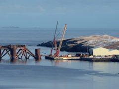Shetland has one of only three marine planning partnerships (Andrew Milligan/PA)