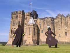 Alnwick Castle in Northumberland is looking to hire trainee wizards among other roles (Alnwick Castle/PA)