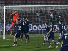Scotland qualified for Euro 2020 after defeating Serbia (Novak Djurovic/PA)