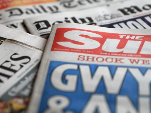 What the papers say – January 23 (PA)
