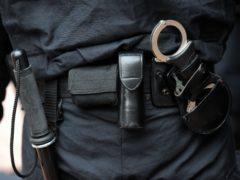 A police officer (Anthony Devlin/PA)