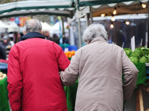 Retirees considering buying an annuity may find the income they could get falls short of expectations, according to Moneyfacts.co.uk (Rui Vieira/PA)