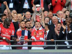 Jack Wilshere won the FA Cup twice with Arsenal (Nick Potts/PA).
