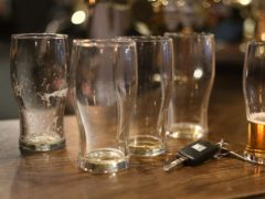Beer glasses (Philip Toscano/PA)