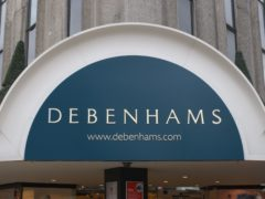 Debenhams has been wound up by a judge in a specialist court (Fiona Hanson/PA)