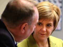 First Minister Nicola Sturgeon said she was not distracted by Alex Salmond's accusations that she broke the ministerial code (Andrew Milligan/PA)