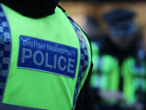 BTP are appealing for information about the incident (Andrew Milligan/PA)