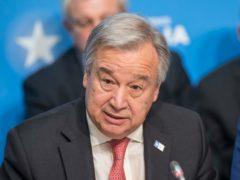 UN Secretary General Antonio Guterres (Jack Hill/The Times/PA)