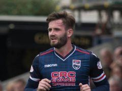 Ross County's Jason Naismith learned from Borna Barisic (Jeff Holmes/PA)