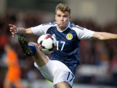 New Hibernian signing Chris Cadden won his last Scotland cap in 2018 (Jeff Holmes/PA)