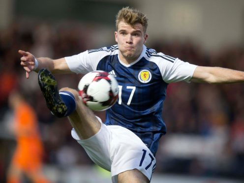 New Hibernian signing Chris Cadden won his last Scotland cap in 2018 (Jeff Holmes/PA)