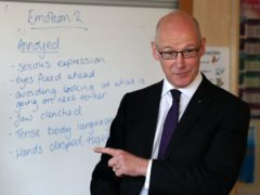 Education Secretary John Swinney said Education Scotland inspectors will produce weekly reports about the 'quality and effectiveness' of remote teaching (PA)
