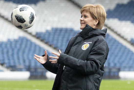 Nicola Sturgeon has questions over Celtic's trip (Jane Barlow/PA)