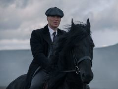 Cillian Murphy as Tommy Shelby in Peaky Blinders (Matt Squire/Caryn Mandabach Prod)