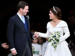 Princess Eugenie and Jack Brooksbank are expecting their first child (Toby Melville/PA)