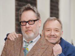 Vic Reeves (left) and Bob Mortimer (John Stillwell/PA)